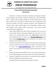 Verifikasi Data Guru yang belum memenuhi syarat untuk terbit SK Tunjangan Profesi