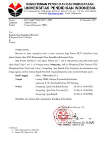 REMIDIAL PLPG SESI 7 dan 8 RAYON 110 UPI BANDUNG
